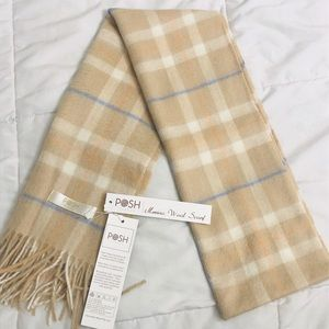 Posh Fleece Merino Wool Scarf (100% Wool)